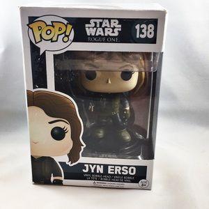 NWT Jane Erso Star Wars Funko pop